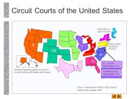 federal circuit court map jurisdiction and stare decision in the dual court system