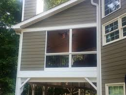 Screened In Patio Ideas Before U0026 After Screen Porch Photos Exovations