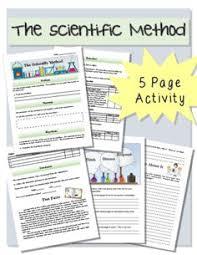 scientific method notes lab worksheet activity scientific