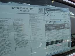 nissan altima fuel economy new 2017 nissan altima 2 5 sl 4dr car in vandalia n17098 beau