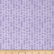 lavishmint arrows lavender from fabricdotcom designed by jackie