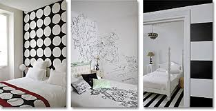 Chic Black And White Bedroom Decor Black And White Bedroom