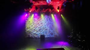 stage light show lights by ellie goulding bassnectar remix
