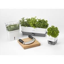 self watering indoor planters cole mason indoor herb garden self watering carbon steel pot