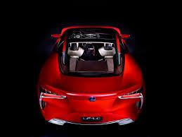 lexus hybrid sport coupe 2012 lexus lf lc hybrid sport coupe concept studio rear