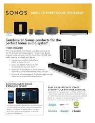 home theater system installation sonos home audio system installation by omni audio video dallas