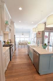 Painted Islands For Kitchens Best 25 Kitchen Layouts With Island Ideas On Pinterest Kitchen