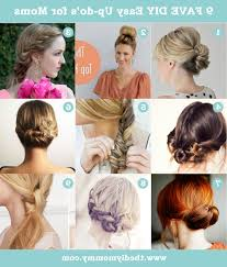Long Hairstyles Easy Updos by Diy Updo Hairstyles Diy Easy Updo Hairstyle With A Chopstick