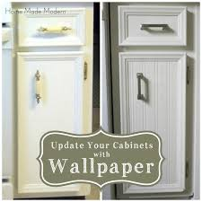 How To Cover Kitchen Cabinets by How To Cover Kitchen Cabinets With Wallpaper Kitchen