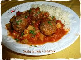 cuisiner des boulettes de viande boulettes de viande à la marocaine chez vanda