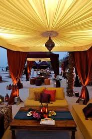 Asha Moroccan Mediterranean Kitchen - hookah lounge with moroccan decor come to lux lounge in west