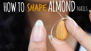 shape perfect almond nails abetweene youtube