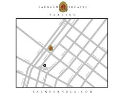 Roosevelt Hotel New Orleans Map by Parking And Directions