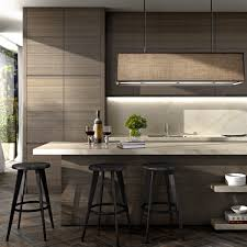 contemporary wood grain cabinetry robert mills architects and