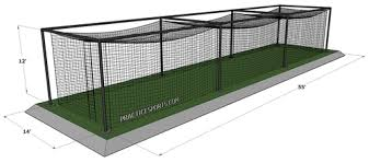 Basement Batting Cage by Best Dimensions For A Softball Batting Cage