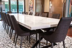 custom made dining room tables oversize custom made ceasarstone table moss furniture moss furniture