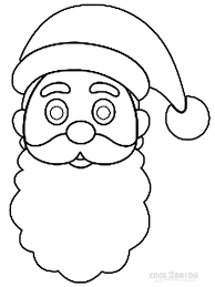 santa hat coloring pages free printable santa hat coloring pages