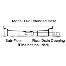 mustee 142 durastall 36 in x 36 in shower stall with extended base