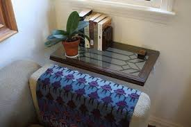 Diy Side Table Diy Side Table Made From Leaded Glass Window Latimes
