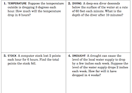 integer word problems more challenging practice questions mr