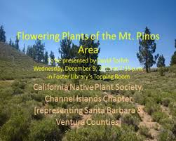 native plants california calendar of events cnps ci