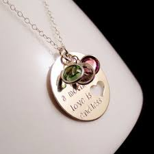 mothers day birthstone necklace shop s necklace with kids birthstones on wanelo