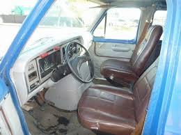 Ford Van Interior 1982 Ford News Van