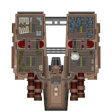 ht 2200 medium freighter deck plan spaceships pinterest