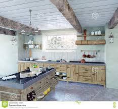 cuisine a l ancienne cuisine à l ancienne illustration stock illustration du intérieur