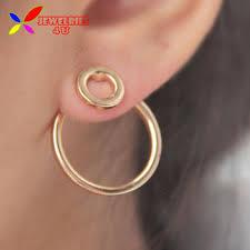 back stud earrings shop front and back stud earrings on wanelo