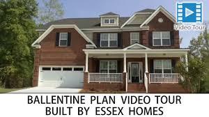ballentine floorplan with basement built by essex homes in