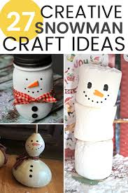 snowman decorations 27 creative diy snowman decorations grillo designs