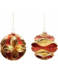 And Gold Glass Ornaments Get The Deal 15 Pack Of 6 And Gold Glass Wavy Ribbed