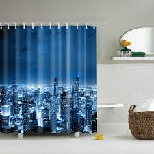 online get cheap bathtub curtain aliexpress com alibaba group papa mima city night printed waterproof shower curtains polyester bathroom curtains with hooks 180x180cm decorative bathtub