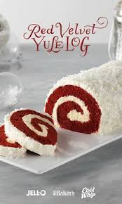 red velvet cake roll recipes pinterest postres gitano y brazos