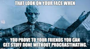 Make Your Own Game Of Thrones Meme - game of thrones night king meme generator imgflip