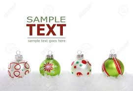 a colorful holiday christmas border over a white background stock