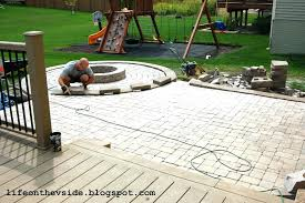 Paver Patio Diy Patio Ideas How To Do A Patio Yourself Brick Paver Patio