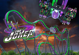 Sixs Flags Nj Twisted Mayhem Of The Joker Unleashed At Six Flags Great Adventure