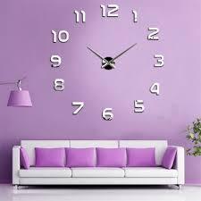 Decorative Wall Clocks For Living Room Popular Wall Clock Big Buy Cheap Wall Clock Big Lots From China