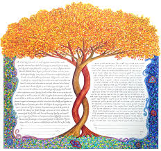interfaith ketubah custom ketubah custom ketubah and interfaith illuminated