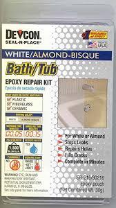 rv trailer cer bathroom bath tub repair kit almond