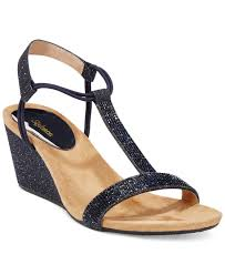 style u0026 co style u0026co mulan2 embellished evening wedge sandals