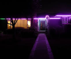 Lights In Soffit Outside by Permanent Digital Led House Holiday Lighting 6 Steps With Pictures