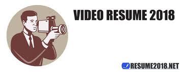 video resume format video journalism resume samples video resume