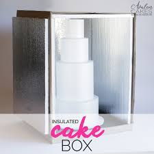 wedding cake delivery how to make an insulated cake delivery box tutorial avalon cakes