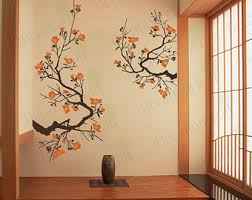 Willow Tree Home Decor Willow Tree Wall Decal Tree Branch Weeping Birds Removable
