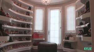Bedrooms And More by Kylie Jenner U0027s Walk In Shoe Closet Is Straight Out Of Your Dreams