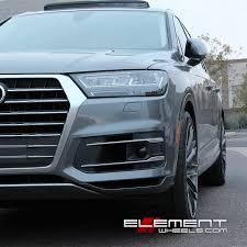 Audi Q7 Specs - 22 inch black di forza bm13 brushed silver w tint on 2017 audi q7