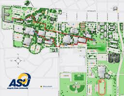 Texas State University Campus Map by Angelo State University Maplets